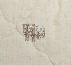 """Подушка из овечьей шерсти """"Оригинал"""""""
