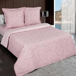 """Купить постельное белье поплин гладкокрашеный """"Византия розовая"""" {citys}"""
