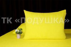 Купить желтые махровые наволочки на молнии в Омске