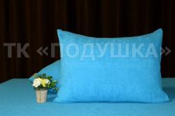 Купить голубые махровые наволочки на молнии в Омске