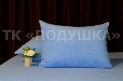 Купить синие махровые наволочки на молнии в Омске