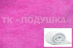 Купить розовый махровый пододеяльник  ТМ Подушка в Омске