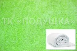 Купить салатовый махровый пододеяльник  в Омске